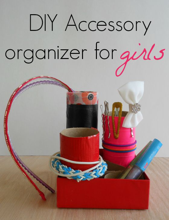 diy accessory organizer for girls