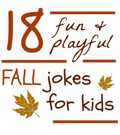 18 Playful Fall Jokes for Kids