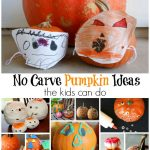 No Carve Pumpkin Ideas Simple Enough for Kids