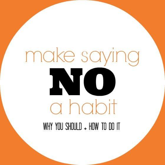 you should say no... A LOT. the reason why makes so much sense