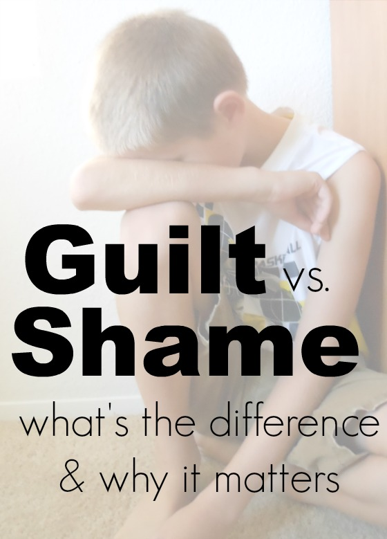 guilt and shame in who you