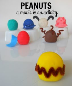 The Peanuts Movie Creative Play Dough Table