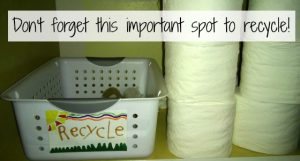 Don't Forget This Important Spot to Recycle!