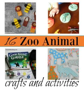 Zoo Animal Crafts and Activities