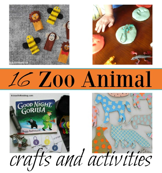 16 zoo animal crafts and activities (3 and 4 are AWESOME!)