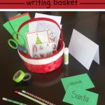 Letters to Santa Writing Basket
