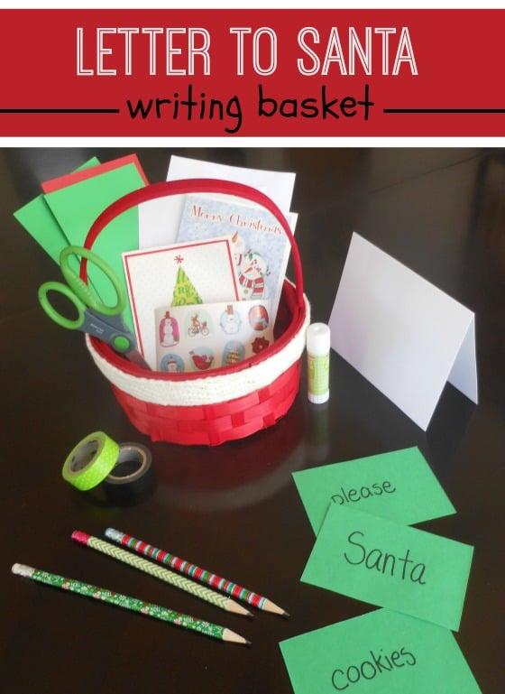 Such a simple idea to make the letter to Santa even more fun!