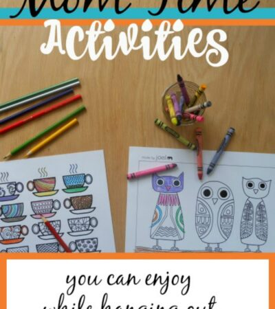 10 Me Time Activities You Can Do With the Kids