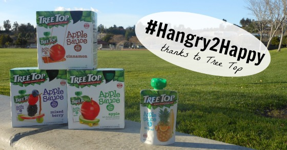 Hangry2Happy thanks to Tree Top!