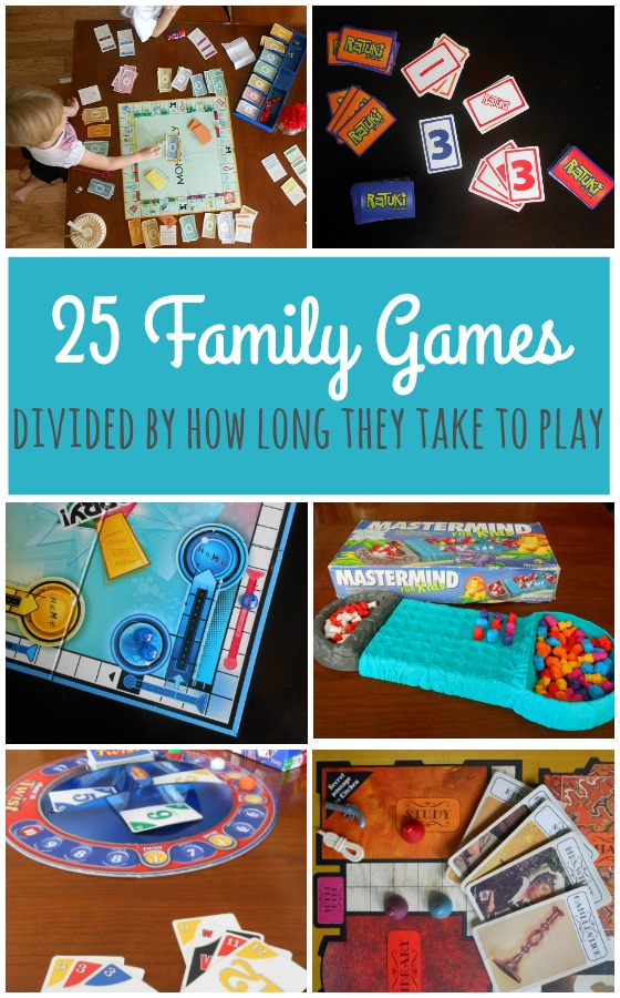 family game night, family game ideas, for all ages, for kids, indoor games, board games #familygame #familytime