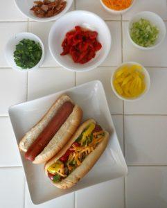 Simple Summer Food – Hot Dog Bar