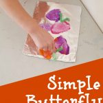 Butterfly Sponge Painting