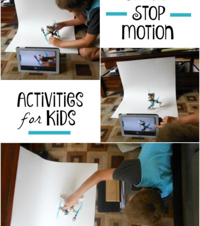 Stop Motion for Kids: Activities & Tools