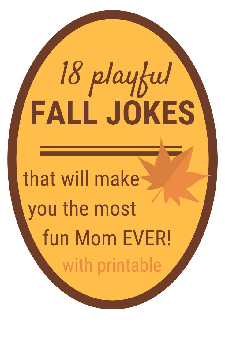 Fall Jokes for Kids | 18 Fun & PRINTABLE Fall Jokes
