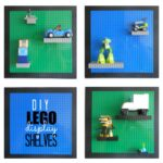 Easy (and adjustable) LEGO Display Shelves