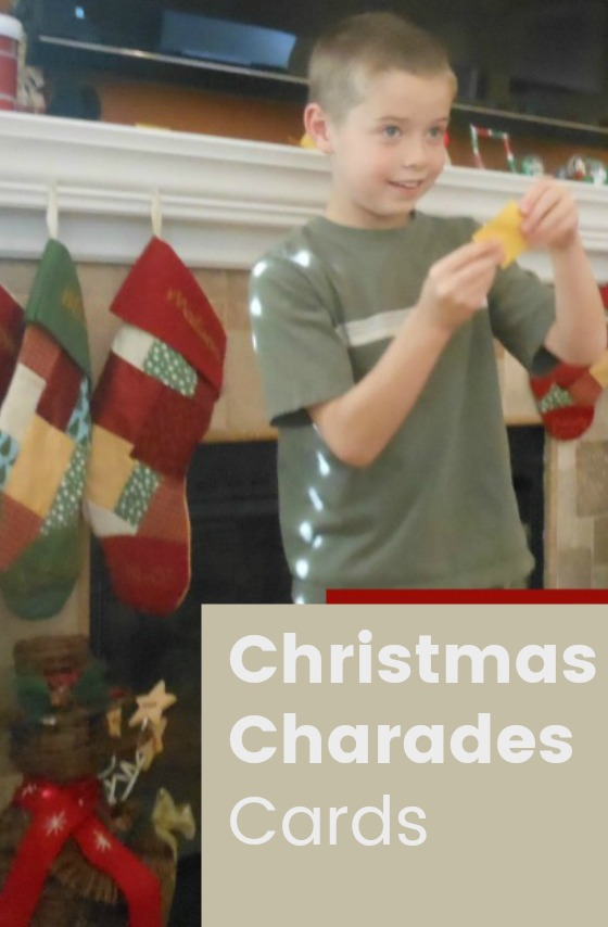 Take a tiny break from the holiday crazy... and spend some quality time with your family. Simply print Christmas Charades Cards and you're ready for fun!