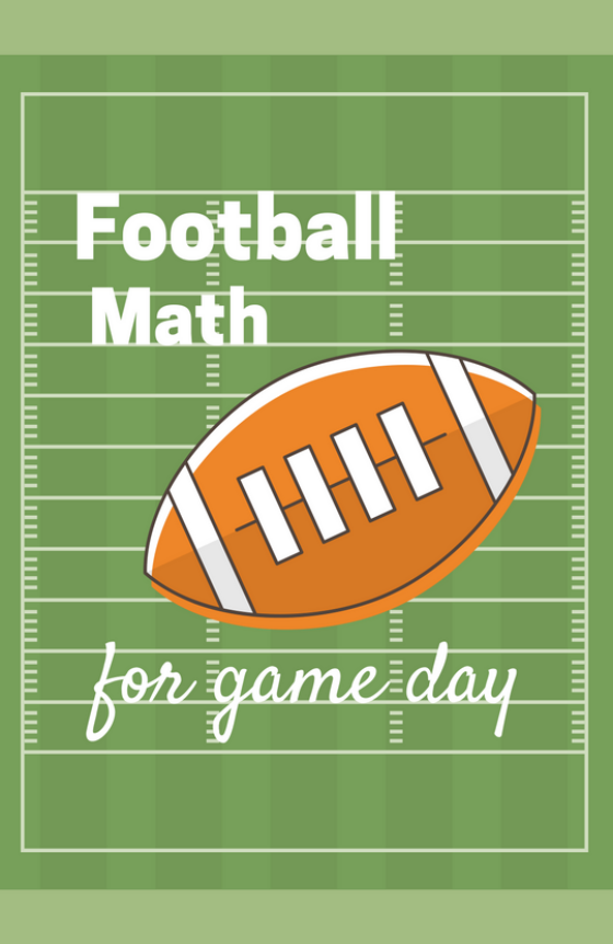 Football Math Activities for Game Day