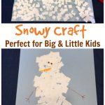 Easy Snowy Winter Craft for Kids of All Ages