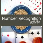 Number Recognition Activity – Counting Cereal