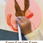 Easy Easter Egg Craft for Preschool and Toddlers