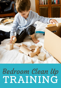 Bedroom Clean Up Training: No More Messy Room