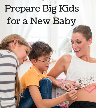 Preparing Older Kids for a New Baby