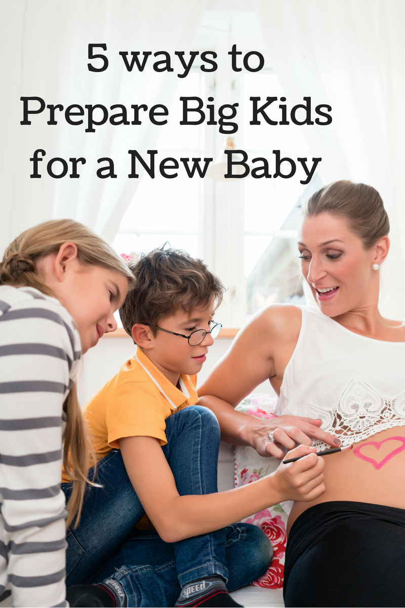 Get the big kids ready for the new baby!