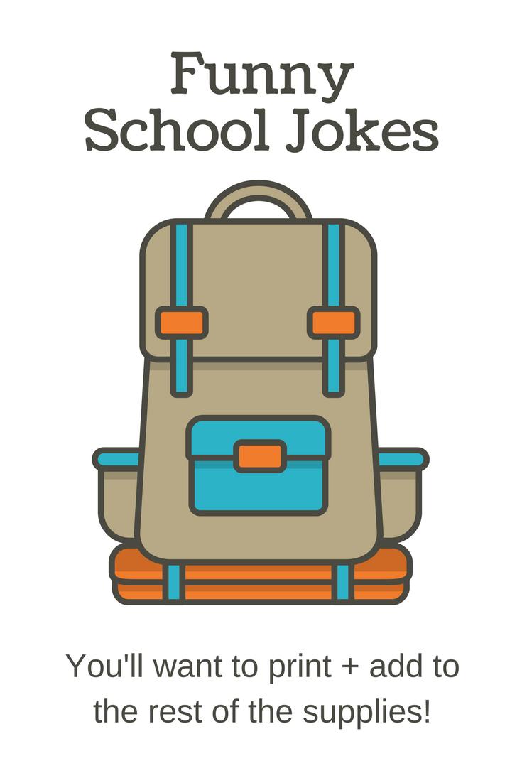 15 printable funny school jokes kids and teachers will love