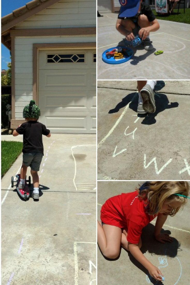 Ride and Play Scooter Activity is a great mix of movement and pretend play