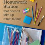 DIY Portable Homework Station Using a Binder