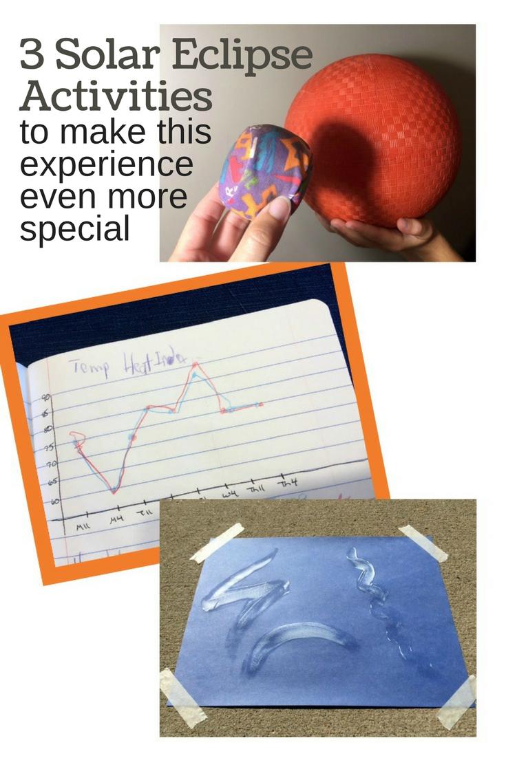 Solar Eclipse Activities for kids