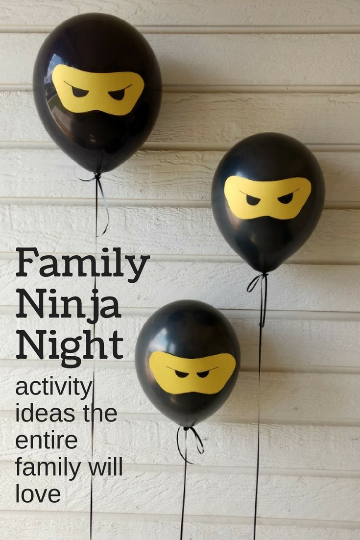 ninjago, ninjago birthday, ninja, ninja birthday, ninja activities for kids, family night, family night activities, family night ideas #familytime #ninjaparty